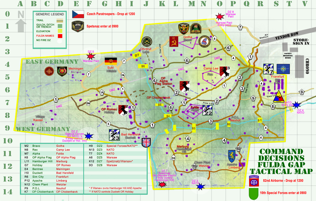 Field Information and Maps